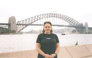Me and the Sydney Harbour Bridge