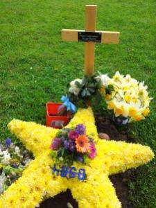 Hugo's grave