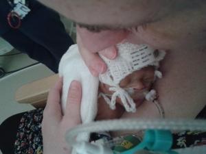 Skin-to-skin with Mummy