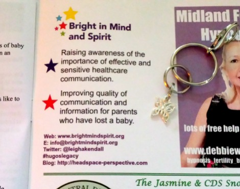 The ad for Bright in Mind and Spirit (Hugo's Legacy)