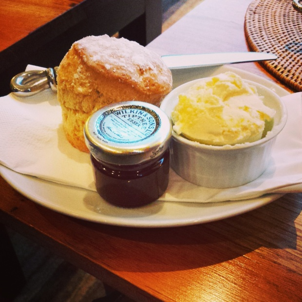 Cream tea - yum!