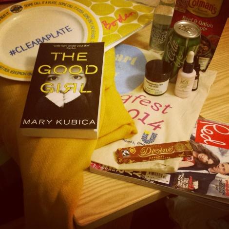 Goody bag contents