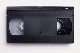 An old video tape: what my brain currently feels like (image from creative commons).