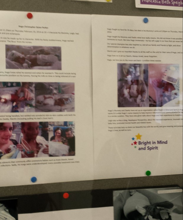 Story of a premature baby on a neonatal unit