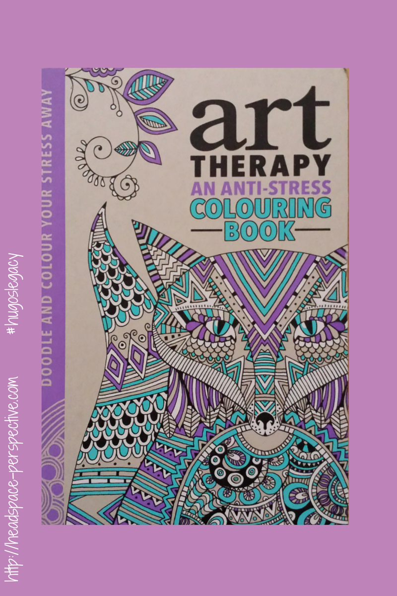 The art therapy coloring book - There Are In Fact Lots Of Colouring Books To Choose From I Chose This One Because It S Excellent Value For 12 99 It Is Hardback And The Pages Are