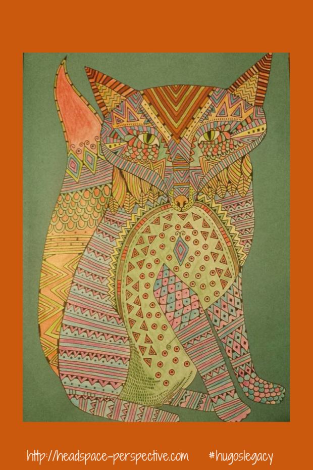 Psychedelic fox