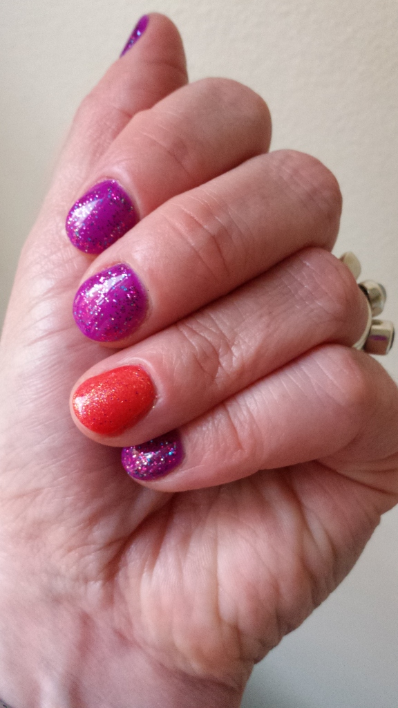 New nail colour.