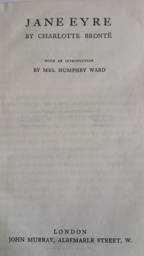 Introduction by Mrs Humphry Ward
