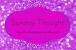 Sunday Thought