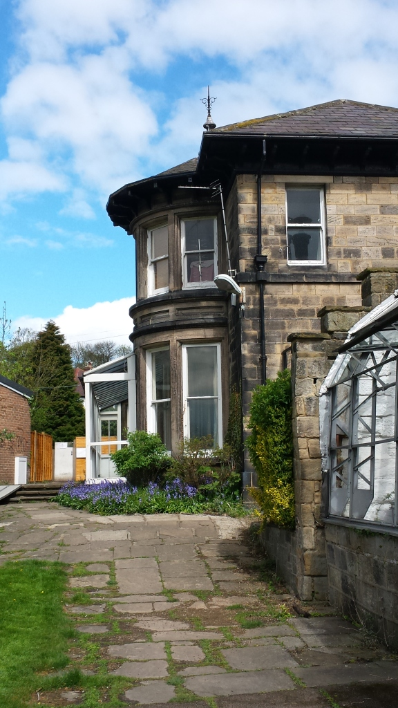 Moorfield Lodge, where I lived in my second year.