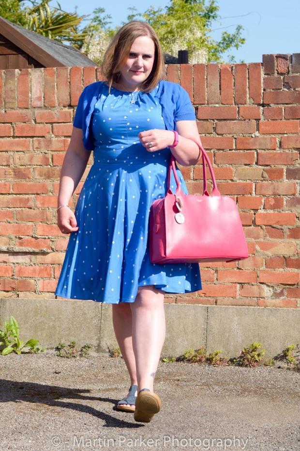 Me with my beautiful gifted Radley handbag.