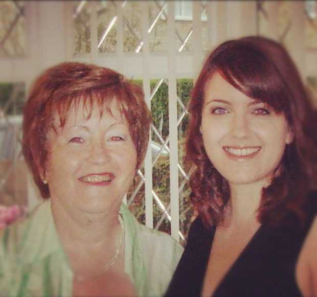 Suzanne and her Mum, approx. 2008