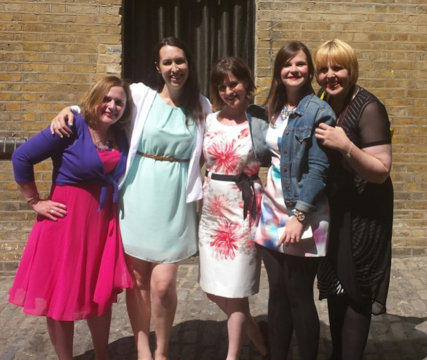Gorgeous ladies: with Katy (What Katy Said), Katie, Hannah, Aby (You Baby Me Mummy)