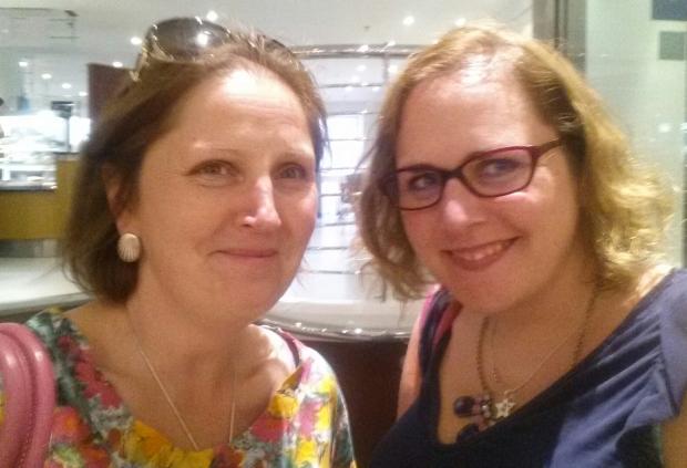 Kath and me